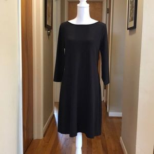 Garnet Hill Black Dress